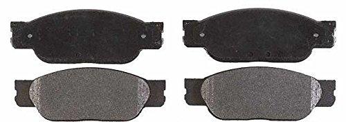 Prime Choice Auto Parts SCD849 Front Ceramic Brake Pad Set by Prime Choice Auto Parts