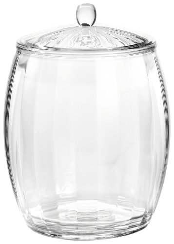 insulated clear ice bucket - 1