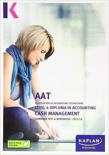 aat level 4 cash management exam