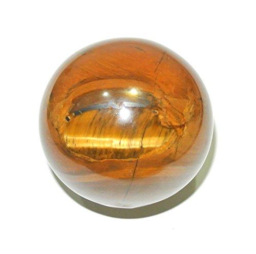 Tiger Eye Quartz Crystal Sphere - crystal shop india TIGER EYE NATURAL CRYSTAL GEMSTONE SPHERE - 186 GMS