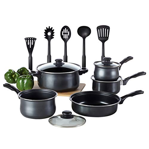 Kitchen Cookware Set, TOPTIER 14 Pieces Nonstick Kitchen