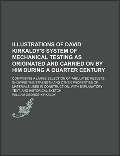 Book Illustrations of David Kirkaldy's system of mechanical testing as originated and carried on by him during a quarter century: Comprising a large ... and other properties of materials used in