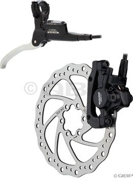 Tektro Auriga Comp Rear 160mm Hydra. Disc Brake Black - Rear Disc Hydraulic Brake
