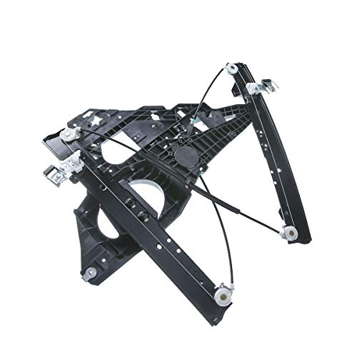 A-Premium Power Window Regulator with Panel without Motor for Ford Expedition Lincoln Navigator 2007-2017 Front Left Driver ()