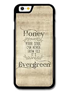 AMAF ? Accessories Ed Sheeran Evergreen Thinking Out Loud Song Lyrics case for iPhone 6