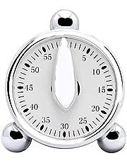 Kookwekker, 60 minuten Countdown Wekker Kitchen Timer Mechanische Timer for het koken Bakken Kinder Klaslokaal Meeting