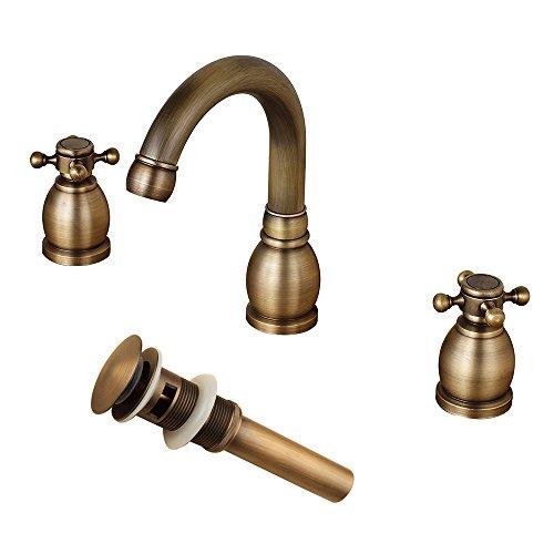 Antique Brass Lavatory - 4