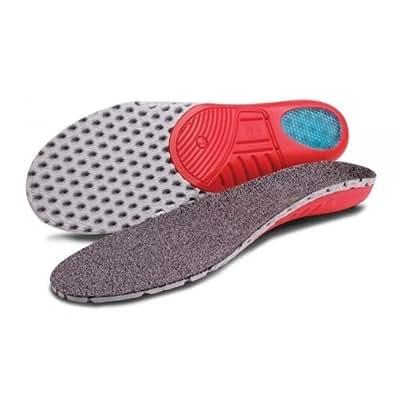 Healix Care Soft Shell Insoles   Lightweight   Shock Absorbing Gel Heel Plug by Healix