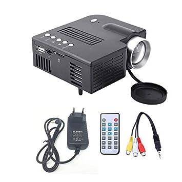 Ningbao UC28A Mini proyector LED 1080P Multimedia Home ...