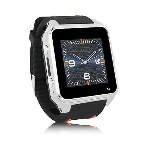 Enfonie ZGPAX S82 Smartwatch teléfono SIM Android 4.4 Dual ...