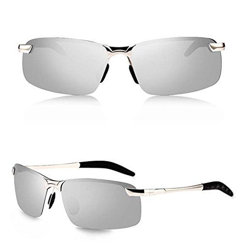 Estilo Driving Gafas Color Polarizing Sol DT Masculinas Sol Mirror de 3 Gafas 3 Driver Nuevo de w1xqXd4P