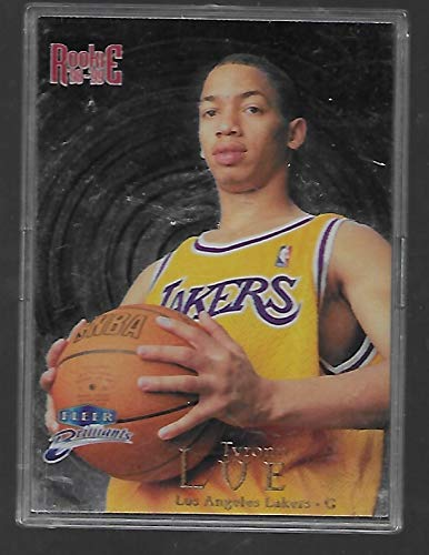 Tyronn Lue 1998-99 Fleer Brilliants NBA Basketball Rookie Card # 121 - Los Angeles Lakers - Stored in a Protective Plastic Display Case!!