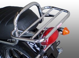 Renntec Bonneville Chrome Carrier Thruxton T100