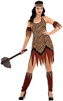 Disfrazzes - Disfraz de troglodita talla m-l para mujer: Amazon.es ...