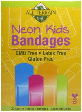 Bandages & Gauze: All Terrain Neon Kids Bandages