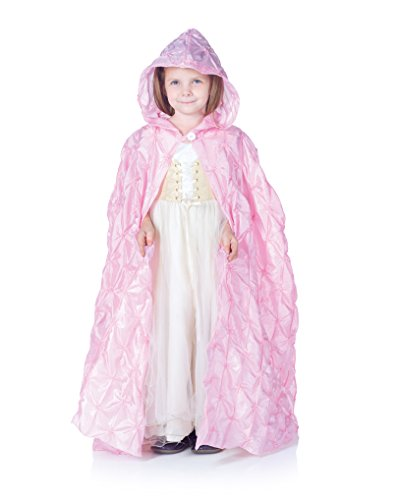 Little Girls Renaissance Princess Pintuck Cape]()