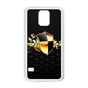 ZXCV Black Fashion Shield Custom Protective Hard Phone Cae For Samsung Galaxy S5