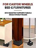 iPrimio V Shape Black Square Bed & Furniture Riser