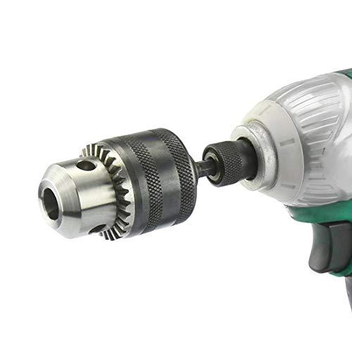 3-16mm Capacity Key Drill Chuck 1//2-20 UNF Mount Socket Female Adapter