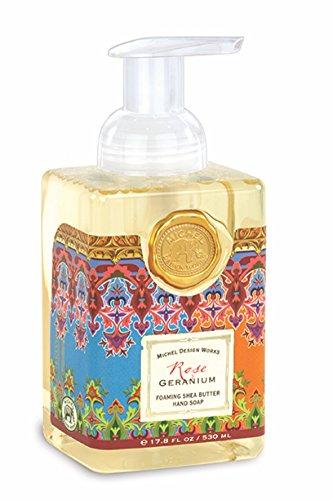 Michel Design Works Foaming Hand Soap, 17.8-Ounce, Rose Geranium