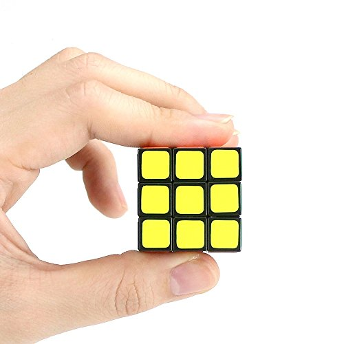 FIFATA 3x3 Speed Cube Smooth Puzzles Mini Magic Sticker Children Toy Tiny 3cm