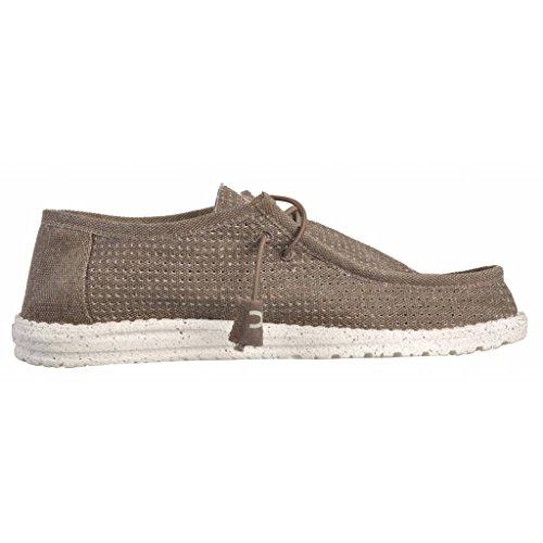 Chaussures de ville, color Marron , marca HEY DUDE, modelo Chaussures De Ville HEY DUDE WALLY PERFORATED Marron