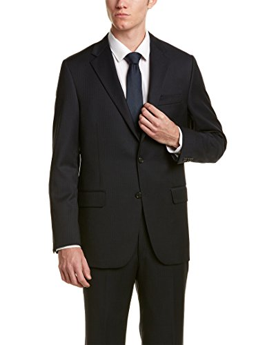 Hickey Freeman Mens 2Pc Milburn II Wool Suit, 44R, - Freeman Hickey Mens Suits