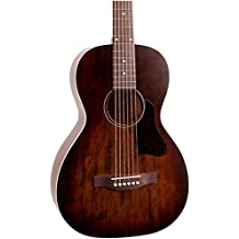 A&L Roadhouse Parlor Acoustic Electric Guitar - Bourbon Burst