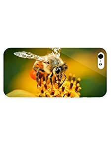 3d Full Wrap Case For HTC One M8 Cover Animal Bee On The Flower21