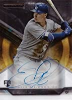 2015 Topps Strata #SA-JP Joc Pederson Certified Autograph Baseball Rookie Card