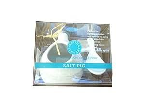 Martha Stewart Collection White Salt Pig