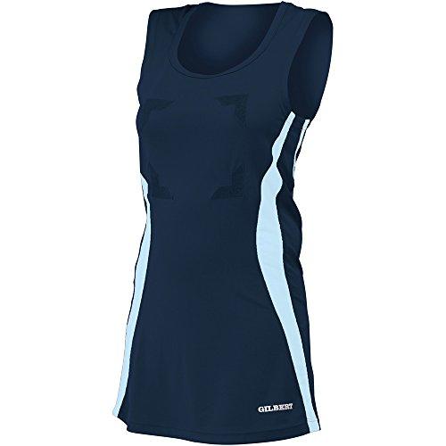Dress Gilbert Eclipse Sky Navy Ladies Netball qUUtP