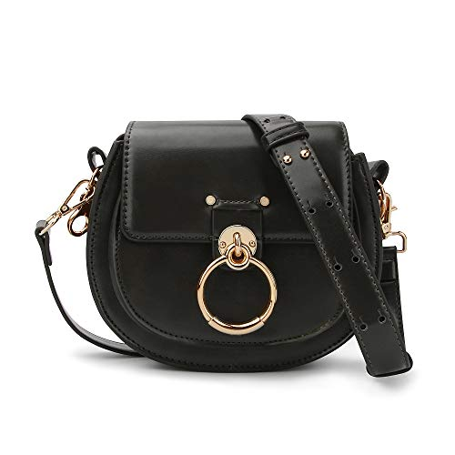 Olyphy Designer Ring Bags for Women, Mini Shoulder Purses Leather Crossbody Bag with Chain (Cheap Replica Handbags)