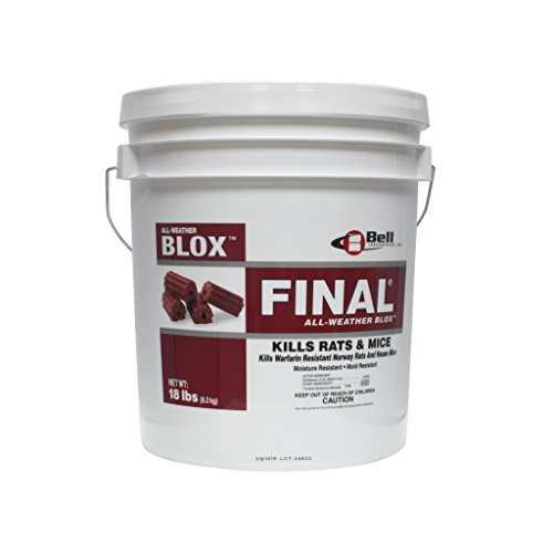 Blox Rat - Final Blocks Rodenticide 18 lbs