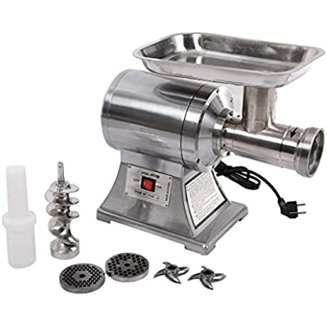 New MTN G Commercial Stainless Steel True 1HP Electric Meat Grinder No 12