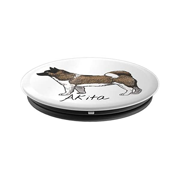 akita inu japanese dog gifts for men women PopSockets Grip and Stand for Phones and Tablets 2