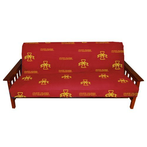 College Covers Iowa State Cyclones Futon Cover - Full Size fits 6 and 8 inch mats (Futon Bright Cover)