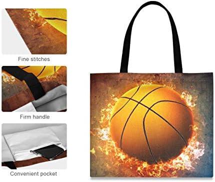 Grande fermeture à glissière porte étui à crayons mur brûle feu basket-ball sport poche de haute qualité poche de bureau