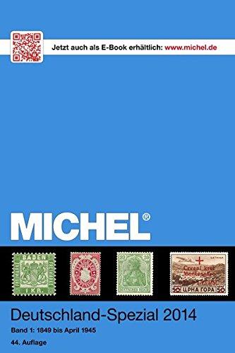 MICHEL-Deutschland-Spezial-Katalog 2014: Band 1 - in Farbe