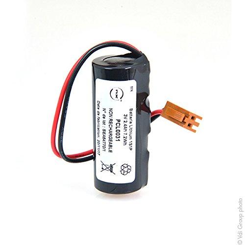 NX - Batterie Lithium CR17450 2/3A 3V 2.4Ah JAE