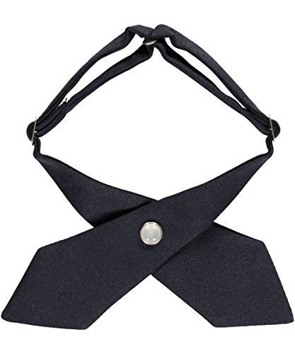 Girls' School Uniform Cross Tie By French Toast (Navy) (School Uniform Ties Girls compare prices)