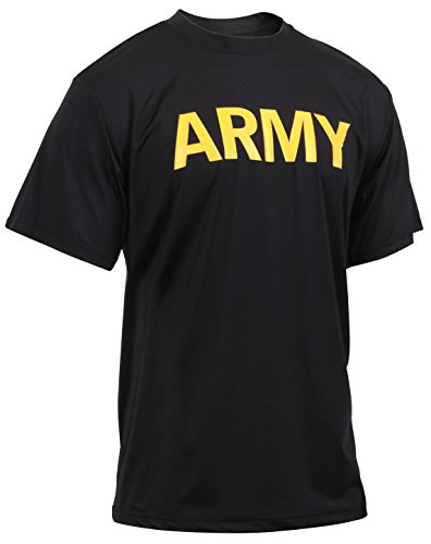 Pt Physical Training Shirt (Rothco Army Physical Training Shirt, X-Small)