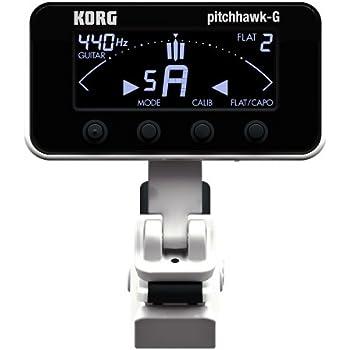 korg aw3g2bk pitchhawk g2 clip on guitar tuner black musical instruments. Black Bedroom Furniture Sets. Home Design Ideas