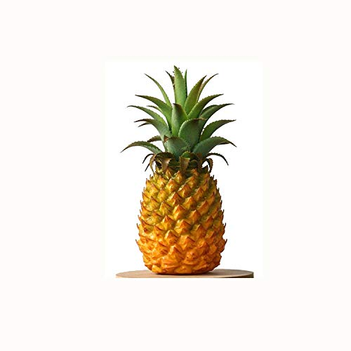 (xdobo Realistic Artificial Fruits Fake Pineapple for Display High Simulation Artificial Dummy Fruits Vegetables Studio Photo Prop DIY Decoration Accessories Artificial Food Toys )