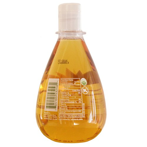 Nectave - Organic Agave Nectar, Tear Drop Bottle - 15.25 Oz (Pack of 6)