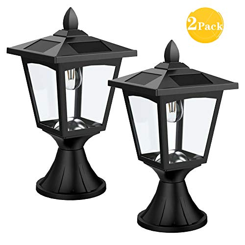 Outdoor Solar Lights For Columns in US - 5