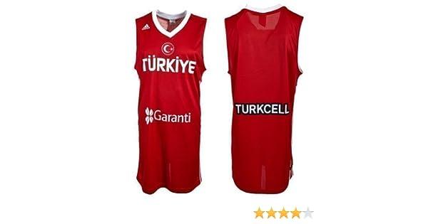 adidas Turquía Equipo Nacional l02528 Baloncesto Jersey