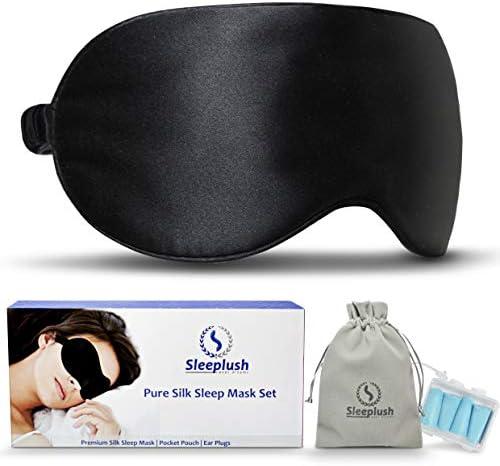 SLEEPLUSH Mulberry Silk Sleep Mask product image