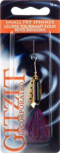 Gitzit Small Fry Spinner R Trout Fishing Equipment, 1/8 oz (Fry Gitzit Small Spinner)