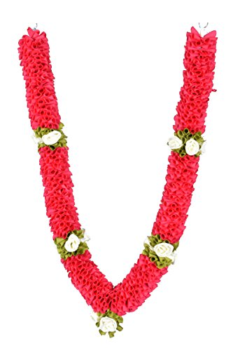 Daedal crafters- Medium Size Garland(75 cms), DarkPink for sale  Delivered anywhere in USA